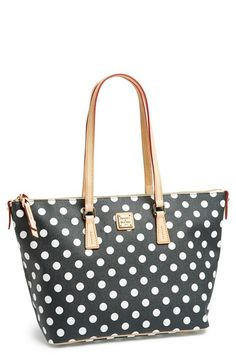 Free shipping and returns on Dooney & Bourke Polka Dot Shopper at Nordstrom.com. Bold dots refresh a spacious faux-leather shopper fronted with a polished goldtone plaque.