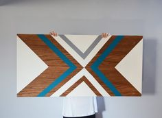 DIY Plywood Wall Art                                                                                                                                                                                 More