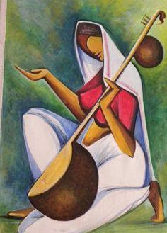 Folk Painting buy in Mysore Indian Art Paintings, Modern Art Paintings, Tableau Pop Art, Rajasthani Art, Indian Contemporary Art, Composition Art, Indian Folk Art, Art Drawings For Kids, Painting Gallery