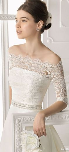Aire Barcelona 2014 Bridal Collection — Lace Wedding Dresses