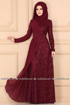 Dress Brokat Muslim, Gaun Dress, Muslim Dress, Muslim Evening Dresses, Hijab Evening Dress, Indian Gowns Dresses, Pakistani Fashion Party Wear, Abaya Fashion, Fashion Dresses