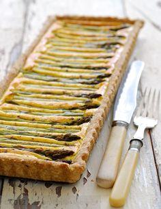 The Asparagus Table – La Vignarola – Italian Spring Soup, Wholemeal Asparagus Tart and Egg Asparagus Soldiers | Pease Pudding