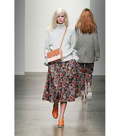 midi floral skirt (all around) - Karen Walker F/W 14