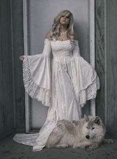 Gwendolyn Fantasy Velvet And Lace Gown romanticthreads