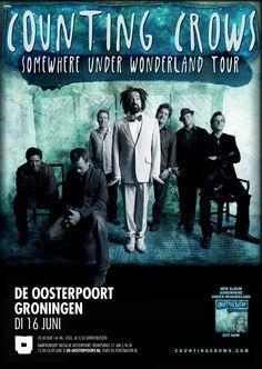 Geen kaarten voor Pinkpop Festival, maar wil je wel Counting Crows live zien? Dan moet je dinsdag 16 juni in Groningen zijn!