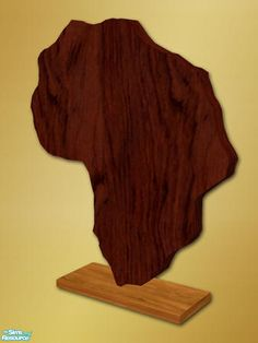 shakeshaft's Africa Sculpture - Mesh