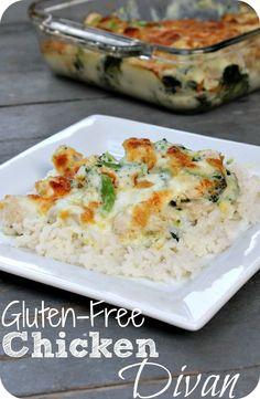 Here is an amazing #glutenfree dinner - Try my Chicken Divan recipe tonight! #chicken #gf #healthy