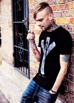 Bert McCracken I hope my mom will understand when I bring a guy home like this