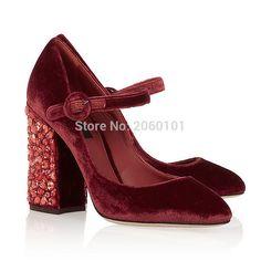 Купить товар2016 из натуральной замши женщин туфли на высоком каблуке сексуальная роскошный толстая высокие каблуки свадебные туфли женщина винтажный стиль шоу обувь одного в категории Туфлина AliExpress.                   %2