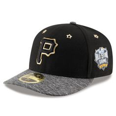 quality design 93139 5b39d Pittsburgh Pirates New Era 2016 MLB All-Star Game Patch Low Profile 59FIFTY  Fitted Hat - Black