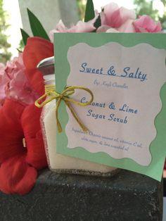 SweetSaltyScrubs: Homemade Coconut $ Lime Sugar Scrub :)