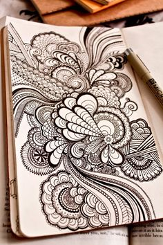 Sketchbooks by Danielle Aldrich, via Behance