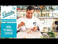How to make the perfect Ceviche: presented by Martin Morales at Ceviche, Frith Street, Soho, London. - YouTube