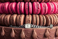 A little Ladurée love. www.thecoveteur.com/chanel_premiere_watch #CHANEL