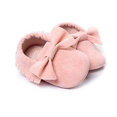 Oferta: 1.57€. Comprar Ofertas de Primeros pasos para Bebé niño, Amlaiworld Bebé niña cuna borlas zapatos bowknot zapatillas zapatos casuales 0-18 Mes (Tamaño: barato. ¡Mira las ofertas!