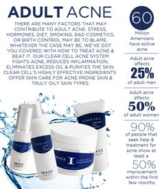 Adult Acne - @Image Skincare - Clear Cell