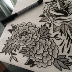 An unbelivable tattoo Tattoo Drawings, Body Art Tattoos, New Tattoos, Sleeve Tattoos, Traditional Tattoo Flowers, Desenho Tattoo, Little Tattoos, Piercing Tattoo, Future Tattoos