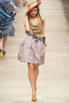 Vivienne Westwood Spring 2011. A really neat take on a silhouette I love so much.