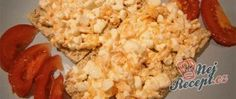Recept Zdravá pomazánka z cottage sýra Snack Recipes, Snacks, Grains, Food, Top Recipes, Health, Food Food, Backen, Snack Mix Recipes