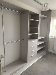 Made To Measure. Diy Fitted Wardrobes, Fitted Wardrobe Interiors, Bedroom Built In Wardrobe, Wardrobe Interior Design, Wardrobe Storage, Wardrobe Organisation, Bedroom Closet Design, Master Bedroom Closet, Bedroom Wardrobe