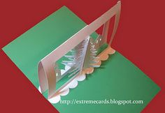 3D Christmas Tree pop-up card