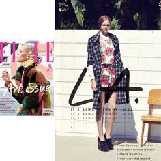 Great News! Line & Dot Plaid Trench Coat featured inElle Mexico @elle_mexico @santiagorui @patriciagarate @paolaquintero                           #Lookbook #LineandDotXO #FW14 #Editorial #Fashion  (at www.thelineanddot.com)