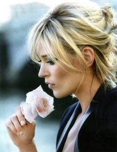 Image result for kate moss and rose portrait