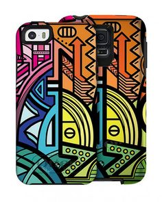 The hottest Otterbox (yes, Otterbox) cases we've seen: Nina Garcia Brazilian Pop series.