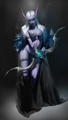 Night Elf by Charles Chai …