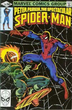 Spectacular Spiderman 56- Frank Miller
