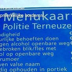 Opmerkelijke borden . nl - 2. Nog meer leuke borden