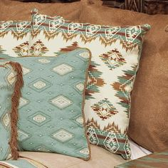 Sagebrush Euro Sham (love these colors for the living room
