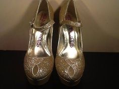 gold heels - Google Search
