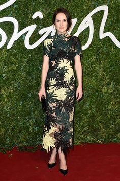Pin for Later: Everyone Is Winning on the British Fashion Awards Red Carpet Michelle Dockery