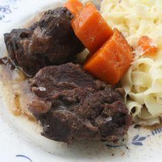 Joues de boeuf confites basse température: la cuisine en dormant   Happy Cooking