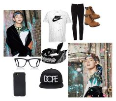 """""""BTS Taehyung"""" by howladertesa ❤ liked on Polyvore featuring NIKE, Gucci, L.L.Bean, Fallon, Tom Ford, Shinola, 21 Men, men's fashion and menswear"""