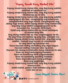 spoken word poetry by rico Bisaya Quotes, Tagalog Quotes, Quotable Quotes, Quotations, Love Quotes, Forget You Quotes, Say I Love You, My Love, Mahal Kita