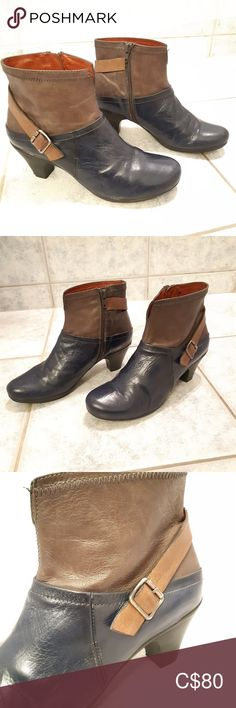Hispanitas leather boots made in spain size 38 Velvet Ankle Boots, Black Ankle Boots, Black Booties, Ankle Booties, Bootie Boots, Snakeskin Heels, Black Leather Heels, Brown Leather Boots