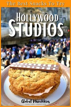 One of the things I did on my last trip to Hollywood Studios was to make a list of what food I absolutely had to eat. What, once was my least favorite park for snacks might now be #1. We pulled together a list of some of the absolute BEST snacks at Hollywood Studios so that you can literally eat your way around the park on your next visit! #travel #traveltips #bucketlist Disney Vacation Club, Disney Travel, Cruise Travel, Disney Vacations, Disney Trips, Travel With Kids, Family Travel, American Cafe, Peanut Butter Mousse
