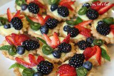 Tea Party 2012 [recipes] – Cin Cin, Let's Eat! Tea Snacks, Picnic Birthday, Berry Tart, Blue Food, Mini Desserts, Tea Party Desserts, Lemon Curd, High Tea, Recipe Collection