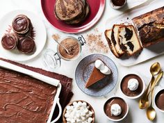 Hot Chocolate Everything : Skip traditional hot cocoa and turn those easy-to-use packets into chocolatey holiday desserts.