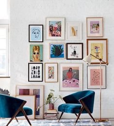 Pin on Home Decor Jan 2020 - I found the composition of this gallery wall very . - uncategorized - Home Decor Cozy Living Rooms, Living Room Decor, Interior Pastel, Interior Colors, Interior Plants, Muebles Art Deco, Decor Scandinavian, Deco Boheme, Inspiration Wall