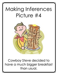 FREE Inference Carousel:Making Inferences with Pictures and Captions. Click here to view the full preview!