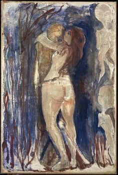 Edvard Munch , Deadt and Life Death and Life, 1894