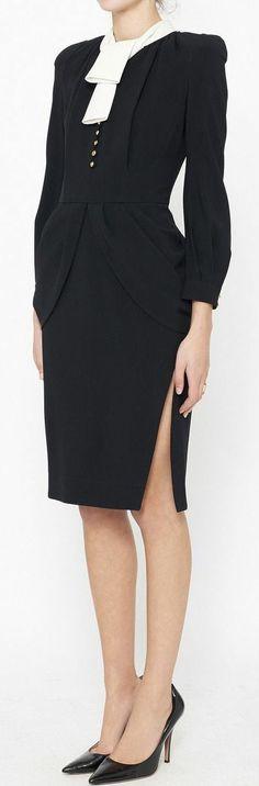 Altuzarra Black & White Dress