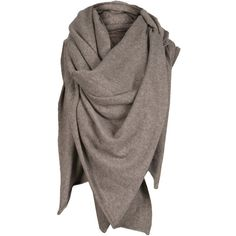 Ambrin Shawl (110 AUD) ❤ liked on Polyvore featuring accessories, scarves, tops, shawls, shawl scarves and allsaints