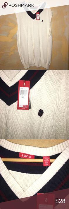 Big and Tall Men's cream izod sweater cardigan 3XLT cream sweater cardigan sweater vest Izod Sweaters Cardigan