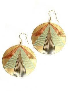 Pinnacle Point earrings $16.00