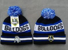 NRL Knit Hats 025 BULLDOGS Beanies Hats 8108! Only $7.90USD