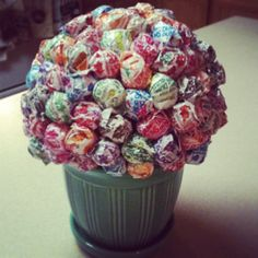 I did it!!   Thanks for the idea Pinterest...Candy Bouquet:-)